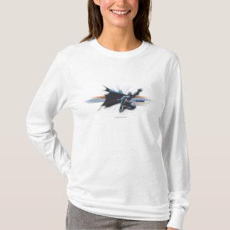 バットマンの都市伝説-青かブラウンの飛行 Tシャツ