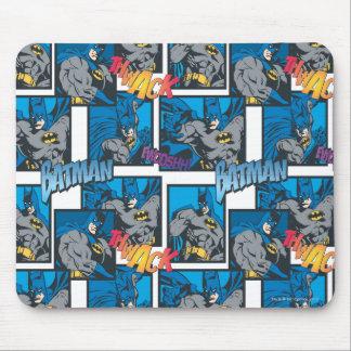バットマンの騎士FX - 30Aたたく音またはFwooshhパターン マウスパッド