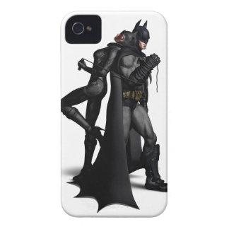バットマンのArkham都市|バットマンおよびキャットウーマン Case-Mate iPhone 4 ケース