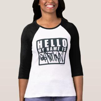 バットマンは|こんにちは私の名前バットマンのロゴです Tシャツ