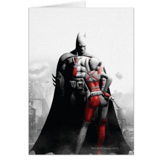 バットマン及びハーレー カード