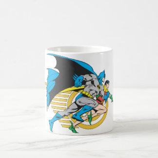 バットマン及びロビンのプロフィール コーヒーマグカップ