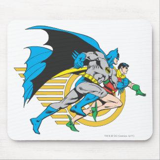 バットマン及びロビンのプロフィール マウスパッド