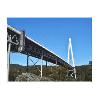 バットマン橋タスマニアオーストラリア キャンバスプリント