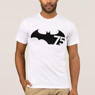 バットマン75のロゴ Tシャツ