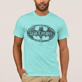 バットマン|の荷車を引くなロゴ Tシャツ
