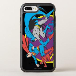 バットマン + スーパーマン + フラッシュ オッターボックスシンメトリーiPhone 8 PLUS/7 PLUSケース