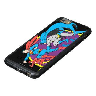 バットマン + スーパーマン + フラッシュ オッターボックスiPhone 6/6S PLUSケース