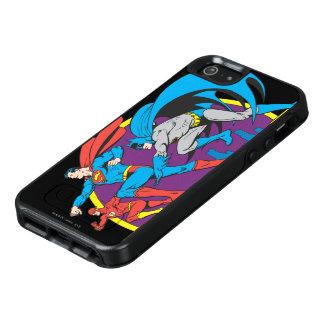 バットマン + スーパーマン + フラッシュ オッターボックスiPhone SE/5/5s ケース