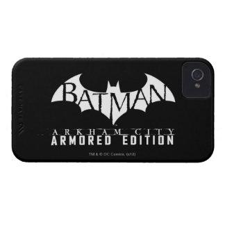 バットマン: Arkham都市装甲版BW Case-Mate iPhone 4 ケース