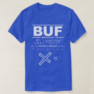 バッファローのナイアガラの国際空港BUFのTシャツ Tシャツ