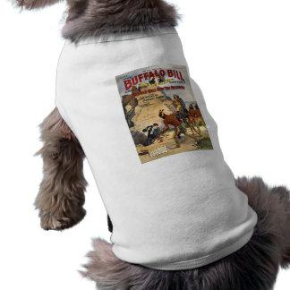 バッファローのビルの物語1910年 犬用袖なしタンクトップ