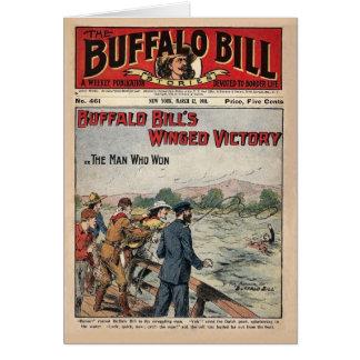 バッファローのビルの物語- 1910年-飛んだ勝利 カード