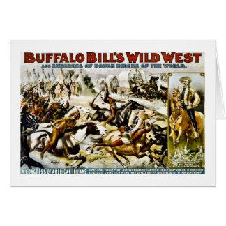 バッファローのビルの野生の西1899年 カード