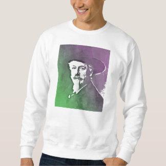バッファローのビルCodyのポップアートのポートレート スウェットシャツ