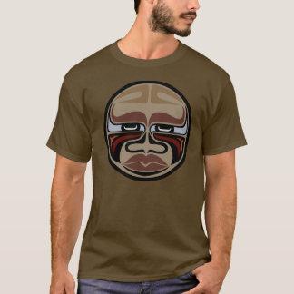 バッファローのマスク-メンズ色のTシャツ Tシャツ