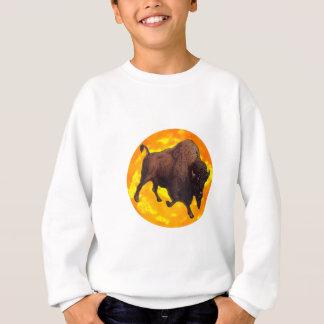 バッファローの上昇 スウェットシャツ