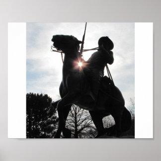 バッファローの兵士ポスター ポスター