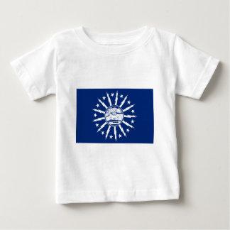 バッファローの旗 ベビーTシャツ