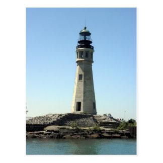 バッファローの灯台 ポストカード
