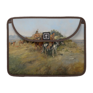 バッファローの狩り1891年(キャンバスの油) MacBook PROスリーブ