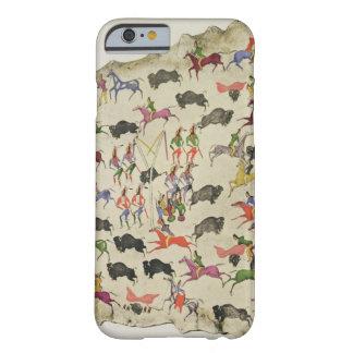 バッファローの狩り(オオシカ皮の顔料) BARELY THERE iPhone 6 ケース