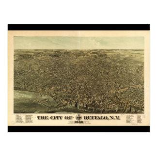 バッファローニューヨーク(1880年)の都市 ポストカード
