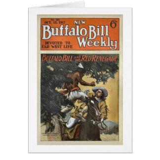 バッファロービル週間1917年-赤い背教者 カード