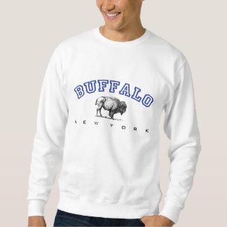 バッファロー、NY -バイソン スウェットシャツ