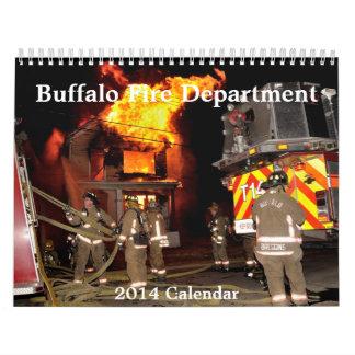 バッファロー、NY FireDepartment 2014のカレンダー カレンダー