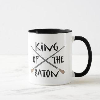 バトンのコンダクターのギフトの王 マグカップ
