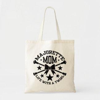 バトンガールのお母さん トートバッグ