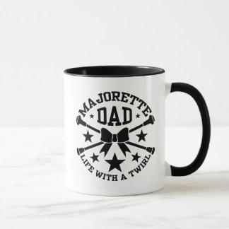 バトンガールのパパ マグカップ