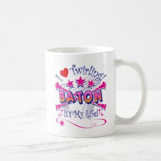 バトンガール コーヒーマグカップ