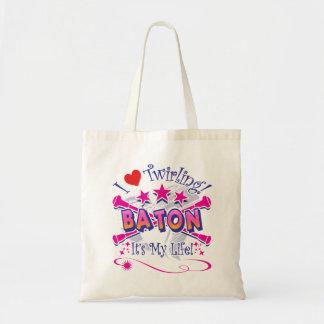 バトンガール トートバッグ