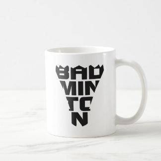 バドミントンのマグ コーヒーマグカップ