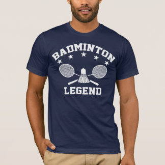 バドミントンの伝説 Tシャツ