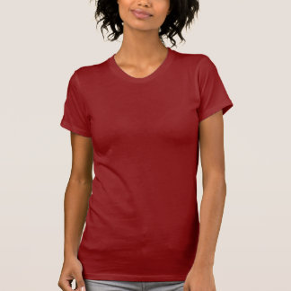 バドミントンの背部暗い女性のTシャツ Tシャツ