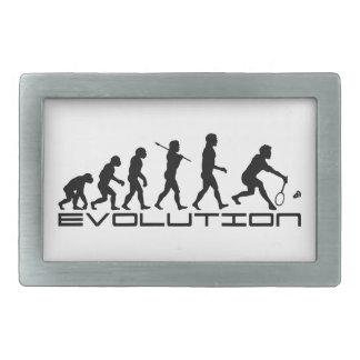 バドミントンプレーヤーラケットスポーツの進化の芸術 長方形ベルトバックル