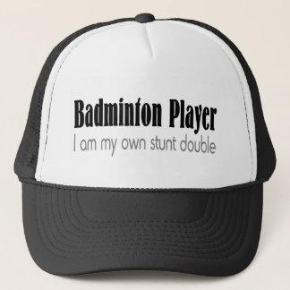 バドミントンプレーヤー私は私の自身の発育阻害の倍です キャップ