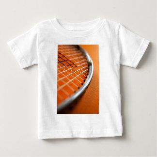 バドミントンラケット ベビーTシャツ