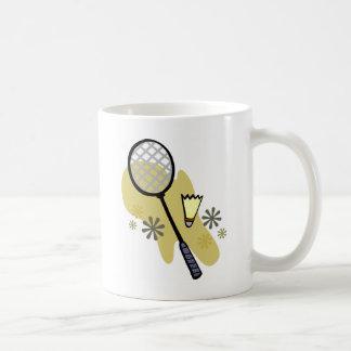 バドミントン コーヒーマグカップ