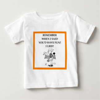 バドミントン ベビーTシャツ