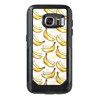 バナナが付いているパターン オッターボックスSamsung GALAXY S7ケース