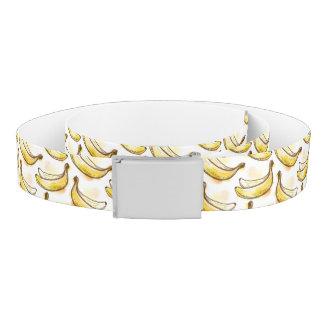 バナナが付いているパターン ベルト