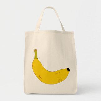 バナナのイラストレーション トートバッグ