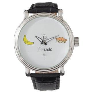 バナナのクリームパイの友人 腕時計