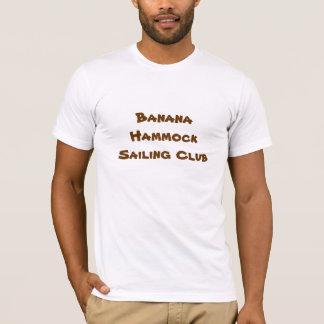 バナナのハンモックの航行クラブ Tシャツ