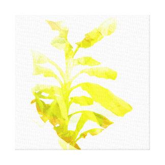 バナナのブラシの打撃No.8 キャンバスプリント