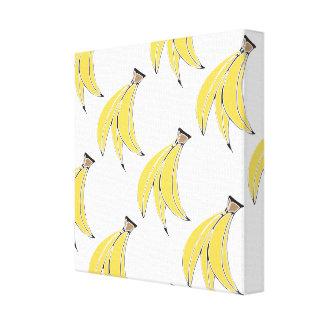 バナナのプリントのキャンバス キャンバスプリント